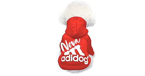 Adidog Hoodie (Extra small & Small)