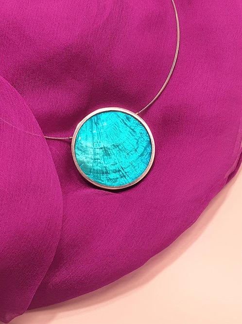 Halskette mit hochwertigem Perlmutt-Anhänger