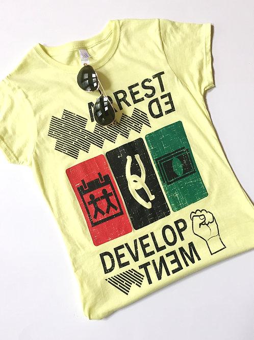 Women's Hits T-shirt (Yellow)