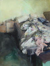 Bed I, 92x74cm, Goache on paper