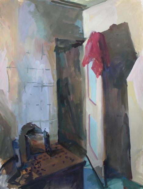 Bagno, Venice, 56x76cm, Goache on paper