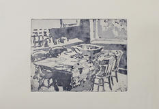 Table Supper (Paynes's Grey), 20x15cm, E