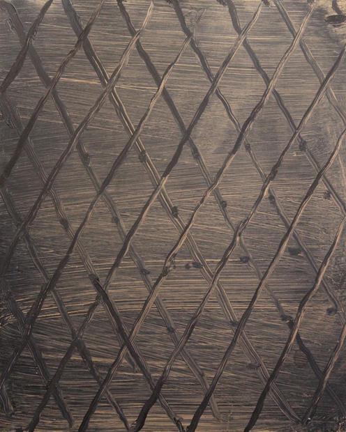Wallpaper I, Oil on copper, 27x35cm