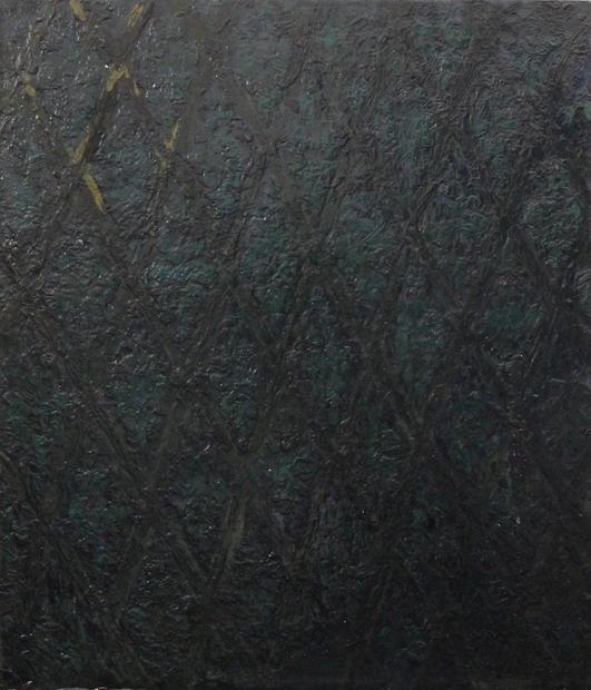 Wallper II, Oil on copper, 23x30cm