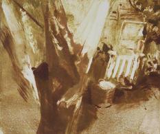 Garden II, Monotype, Ink on Paper, 29x25