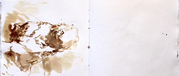 Sketchbook Pignano, Italy