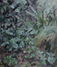 Garden, Kelly's Flat, 80x100cm, Oil on l