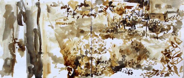 Skethbook Pignano, Garden