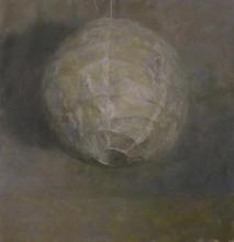 Notte, 50x50cm, Oil on linen