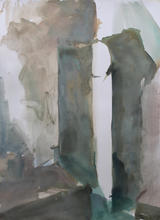 La Porta, 56x76cm, Ink on paper