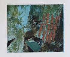 Home II, Monotype, Ink on Paper, 29x25cm