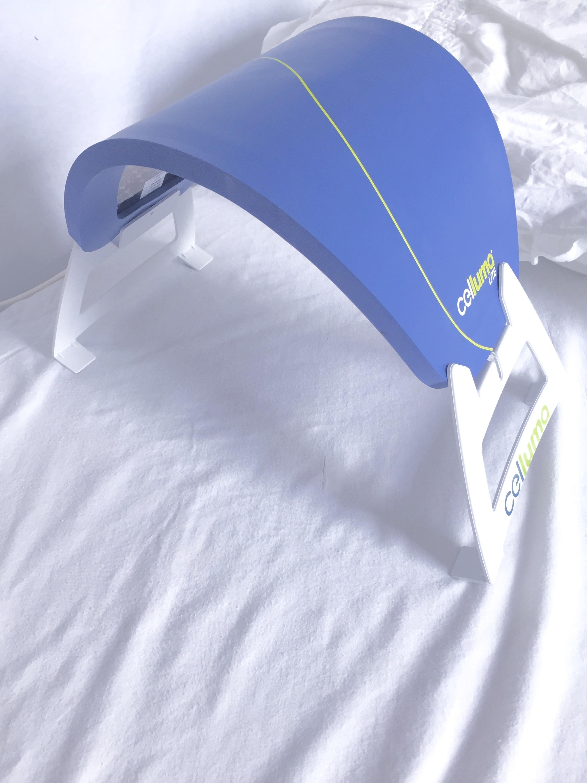 LED treatment set-up