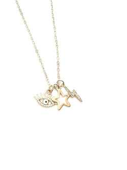 Charm Offensive Custom Necklace (Gold)
