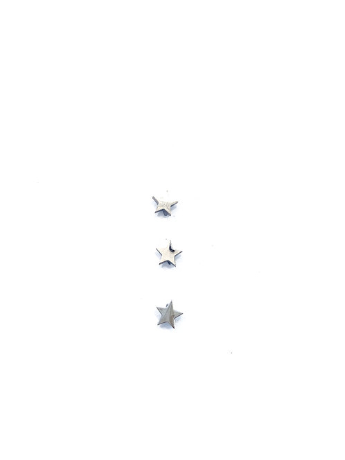 Stainless Steel Star Studs