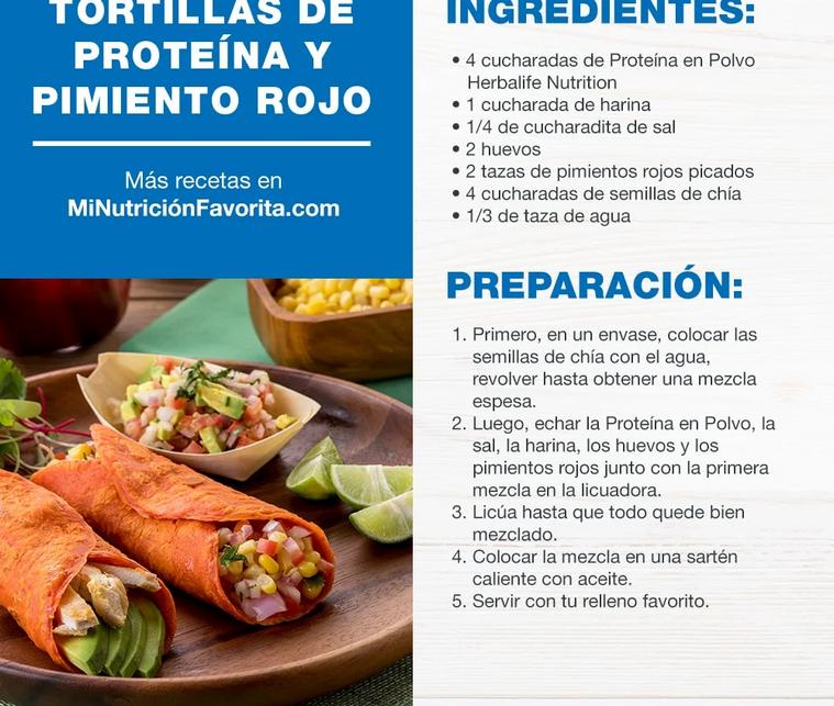 Tortillas de Proteina