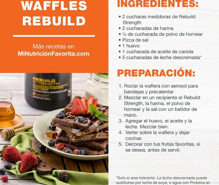 Waffles Rebuild
