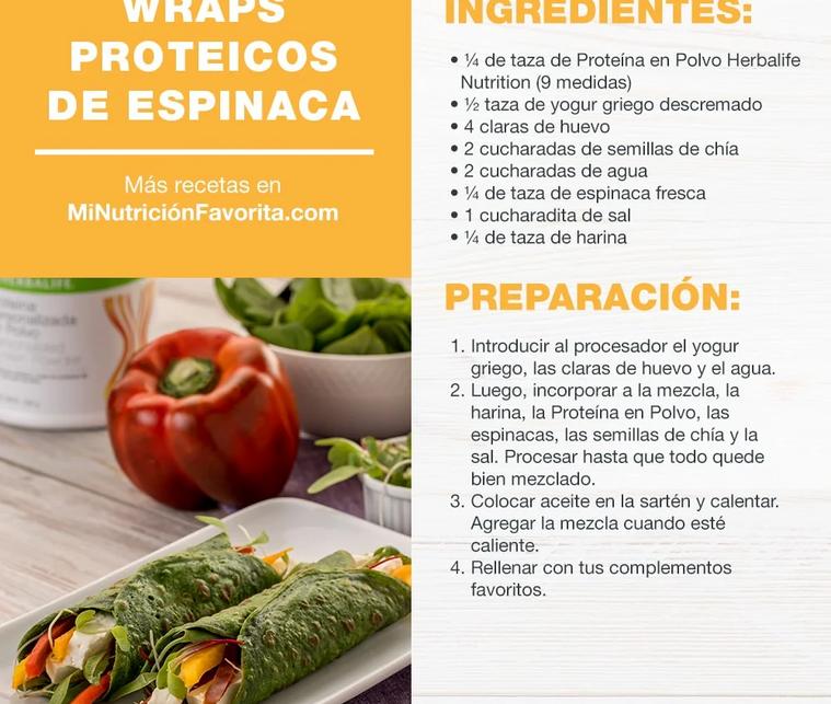 Wraps Proteicos