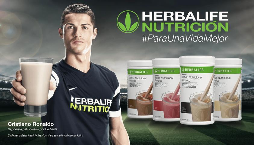 Cristiano Ronaldo Batidos Herbalife