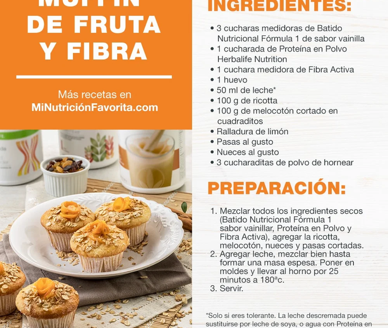 Muffin de Fruta