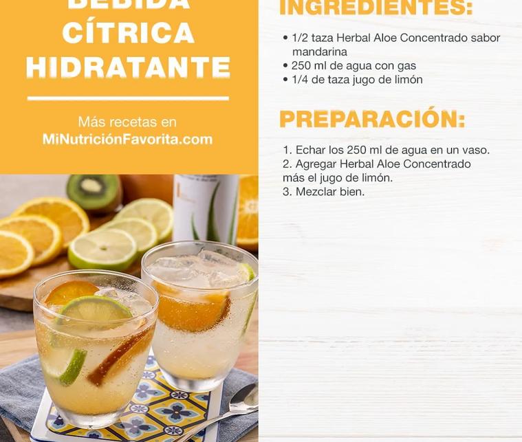 Bebida Citrica