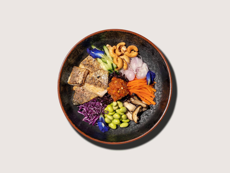 Rainbow Rice Bowl