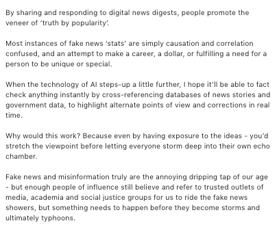 What considerations should school leadership take for fake news? Guide founder Leon Hady speaks.