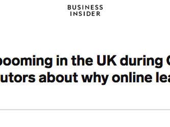 Leon Hady discusses with Business Insider why online learning is here to stay.