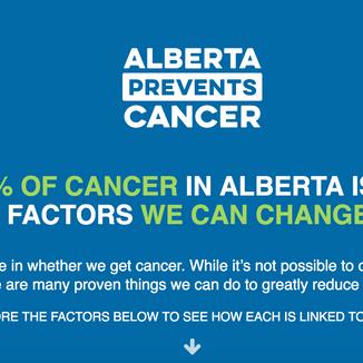 Alberta Prevents Cancer, AHS