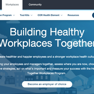 Healthier Together: Workplaces