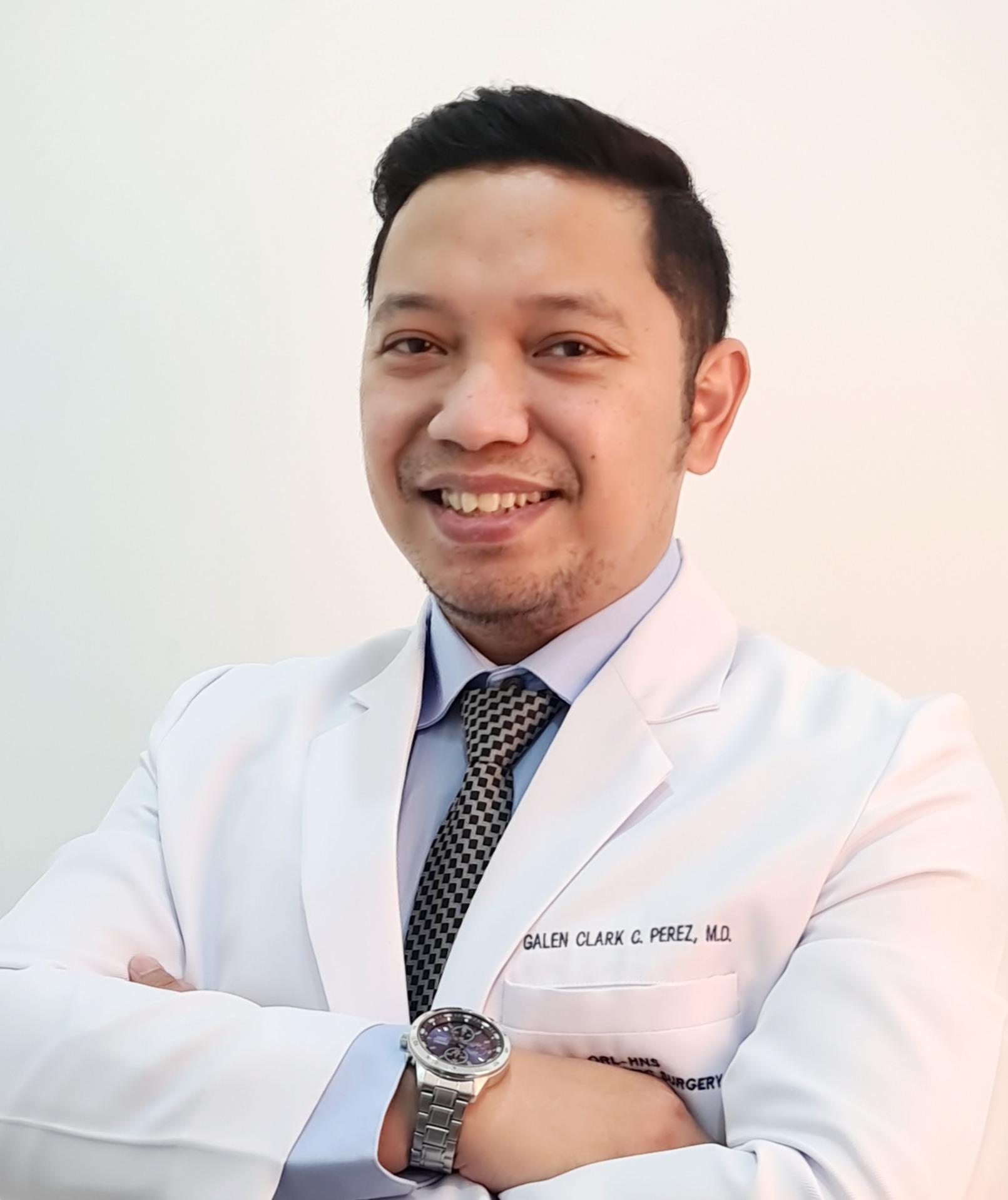 Galen Clark Perez MD, FPSO-HNS