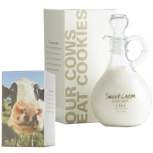 Sweet Cream Body Milk  - Decorative Cruet 10oz