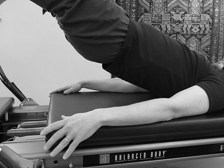 Pilates - Bridge on Reformer