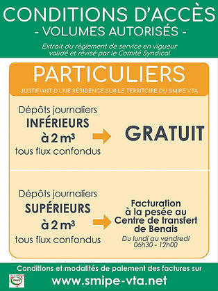 Conditions accès volumes particuliers BD