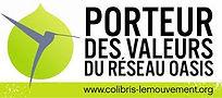 Logo Oasis colibri le mouvement habitat participatif