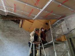 travaux chambres d'hôtes permaculture groupe collectif domaine des possibles habitat participatif ecolieu clermont ferrand orcines ternant puy de dome auvergne