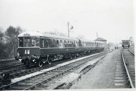 The original BRCW 1957 green livery
