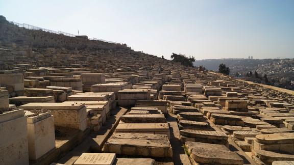 Mount of Olives cemetery, Jerusalem, Israel