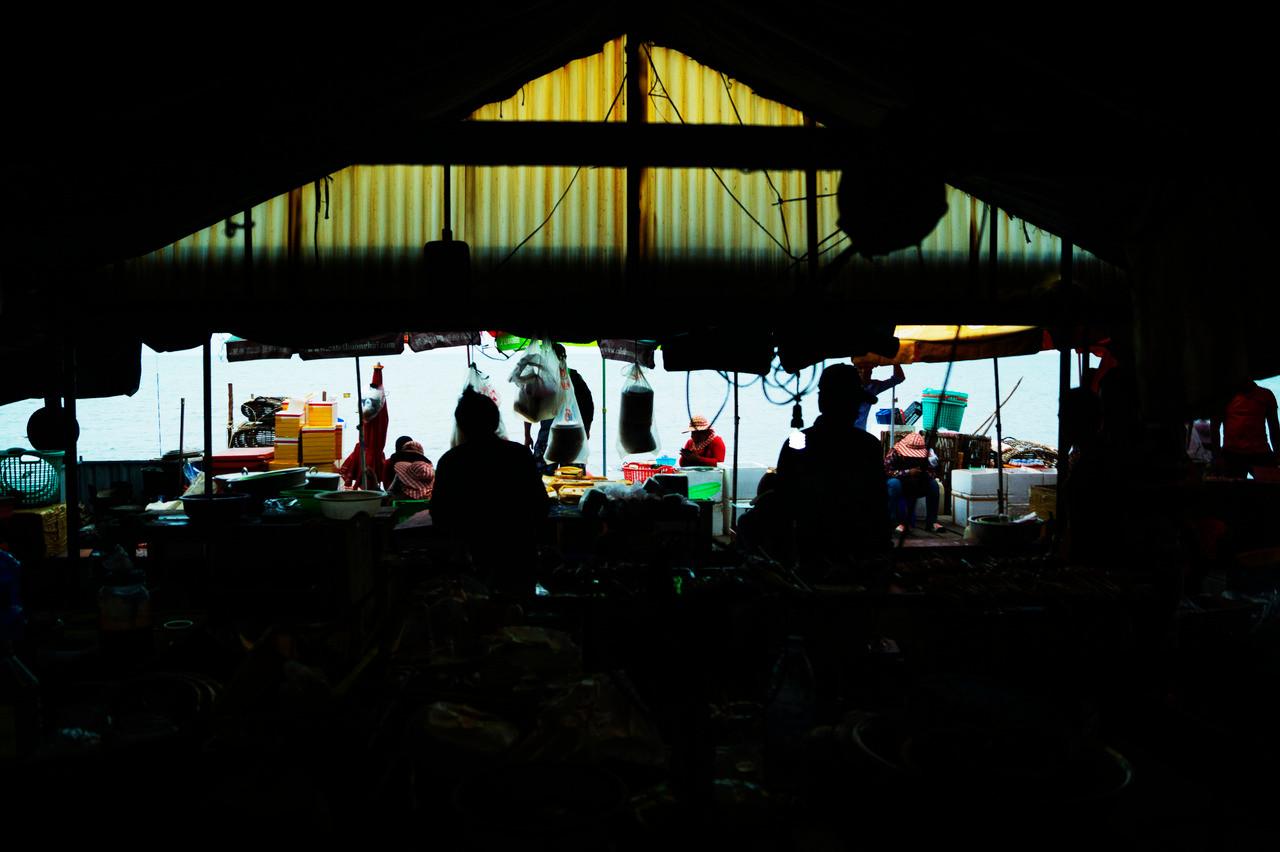 Crab Market, Kep