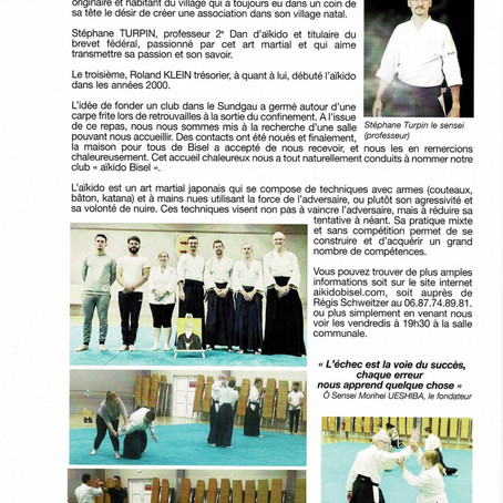 Article AIKIDO BISEL