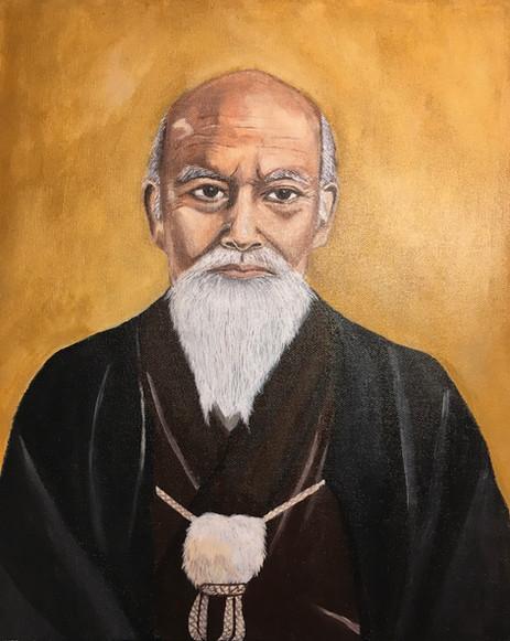 Portrait Ô Sensei Morihei UESHIBA