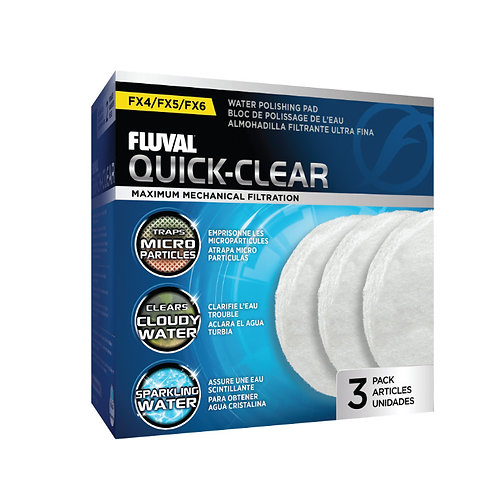 Fluval FX Series Quick Clear Ultra Fine Pads
