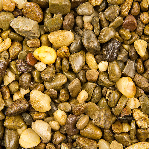 Este's Natural Deep River Pebble Aquarium Gravel 5lb