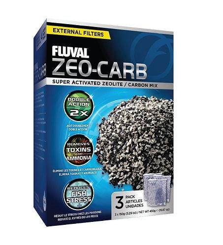 Fluval Zeo-Carb (3-Pack, 450g)