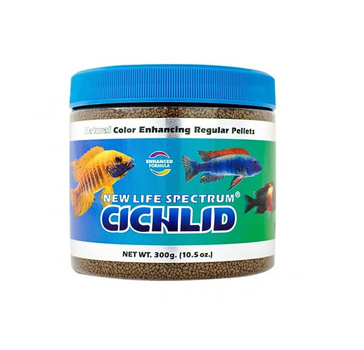 New Life Spectrum NLS Naturox Cichlid Pellet Food 300g