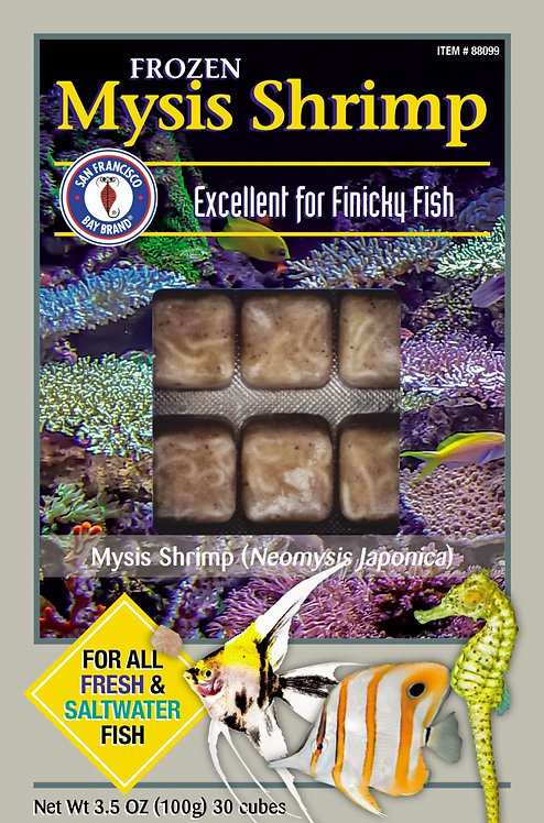 San Francisco Brand Mysis Shrimp Frozen Fish Food