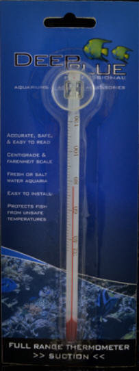 Deep Blue Suction Thermometer