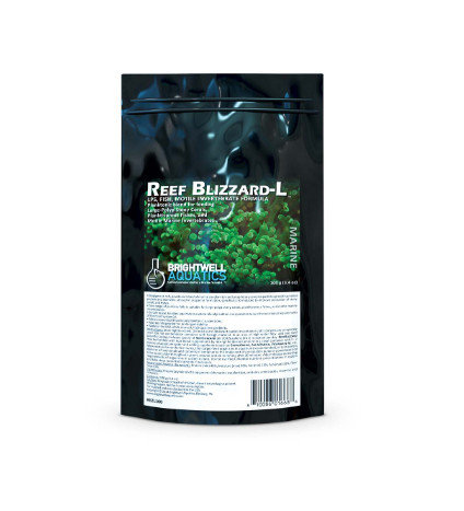 Brightwell Aquatics Reef Blizzard-L Powdered Planktonic Food Blend