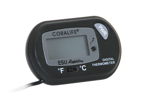 Coralife Digital Battery-Operated Thermometer