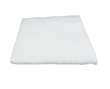 "Loose White Polyester Fiber Filter Pad 24""x24"""