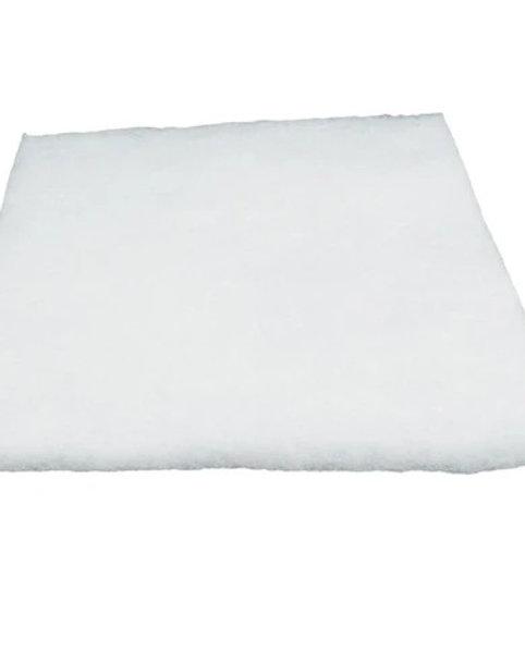 "Loose White Polyester Fiber Filter Pad 12""x24"""